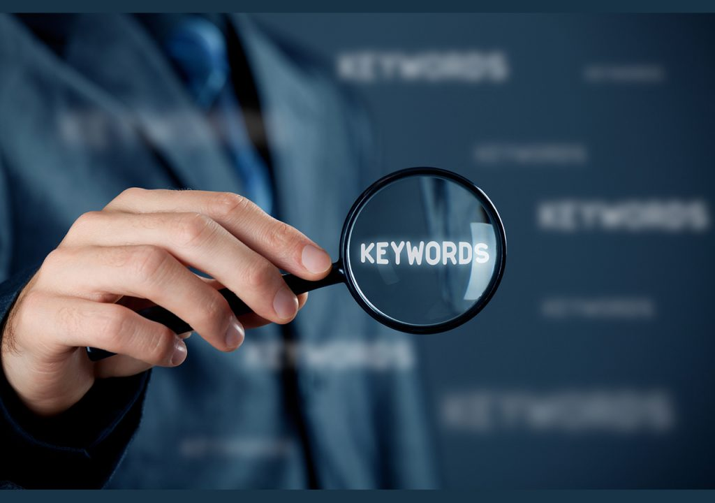 There are a multitude of keyword research tools available that show the keyword search volume and competition for any given word or phrase.