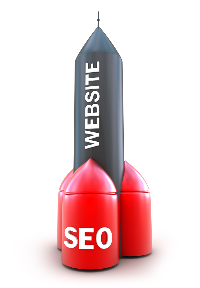 Rocket picture of how off page seo can accelerate the ranking of your website.